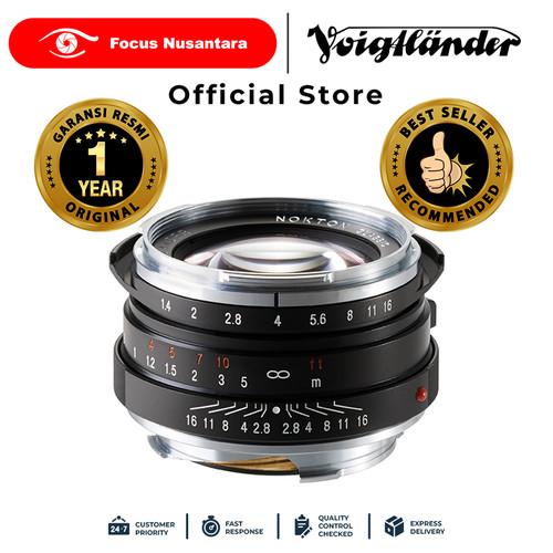 Foto Produk VOIGTLANDER LENS F1.4/40MM SC NOKTON dari Focus Nusantara