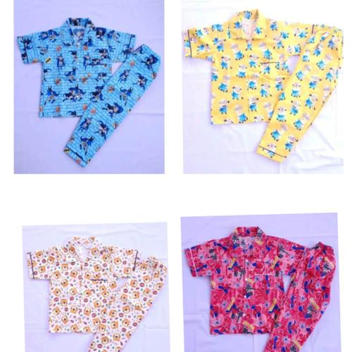 Foto Produk Baju Tidur Anak Laki Laki usia 5 - 9 th - 5-6 tahun dari Arruma Store