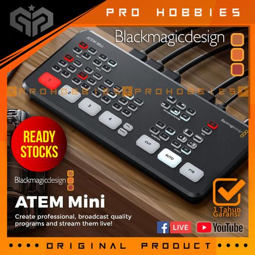 Foto Produk Blackmagic Design ATEM Mini HDMI Live Stream Switcher ORIGINAL dari Pro Hobbies