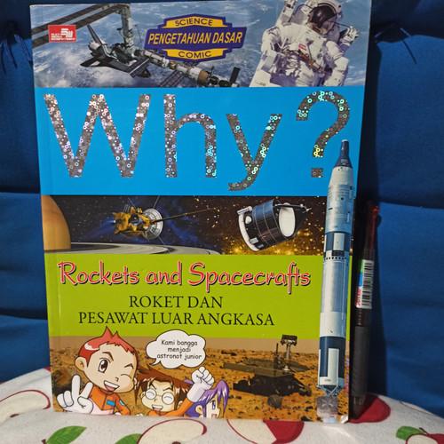 Foto Produk komik why roket dan pesawat luar angkasa dari buku dewe
