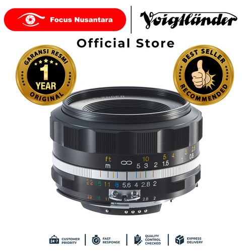 Foto Produk VOIGTLANDER LENS F2.0/40MM SL-II S AIS (B) ULTRON dari Focus Nusantara