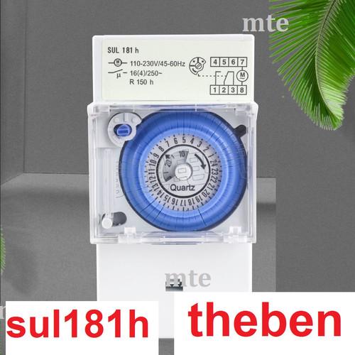 Foto Produk Timer Analog Theben SUL181H Switch Switcher 24 Jam/H Panel Otomatis dari MT Elektronik