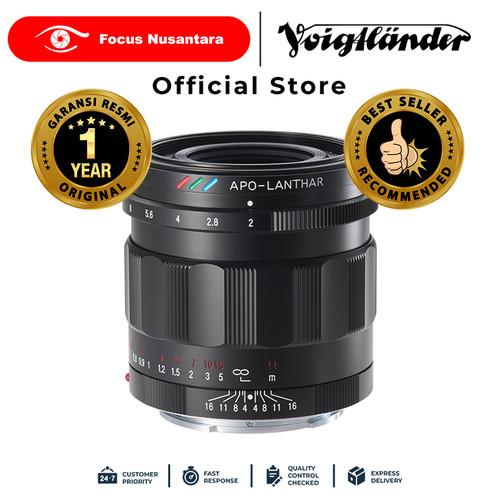 Foto Produk VOIGTLANDER LENS 50MM F2.0 E-MOUNT APO LANTHAR dari Focus Nusantara