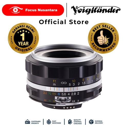 Foto Produk VOIGTLANDER LENS F2.0/40MM SL-II S AIS (S) ULTRON dari Focus Nusantara