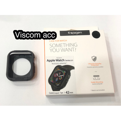 Foto Produk SPIGEN RUGGED ARMOR CASE APPLE WATCH IWATCH SERIES 3 2 1 42mm oem dari Viscom Acc