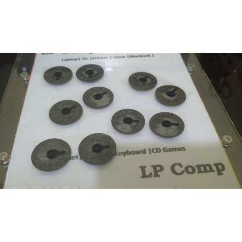 Foto Produk Karet rubber feet Laptop Zyrex Sky 232 Xtreme - Plastik + Karet dari LPComp