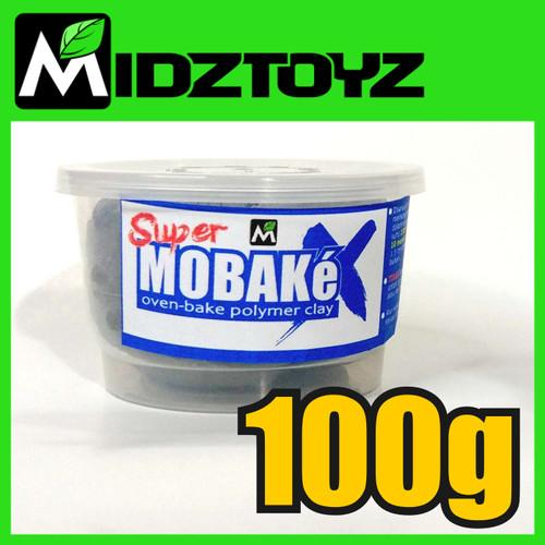 Foto Produk Super Mobake X - oven bake Polymer Clay 100g dari Midztoyz