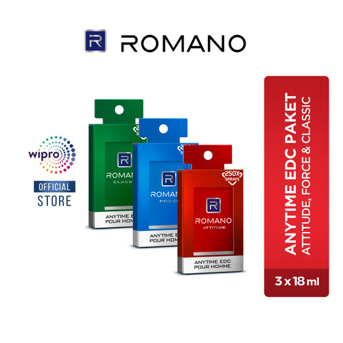 Foto Produk Romano Anytime Package all Variant dari Wipro Unza Official