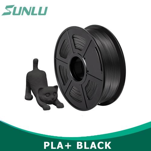 Foto Produk INDOCART Tinta Filamen 3D Printer Filament PLA+ 1.75mm 1kg - Hitam dari INDOCART