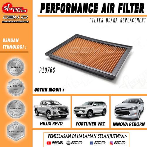 Foto Produk Filter Udara Sprint Filter Innova Reborn Fortuner VRZ Hilux Revo 2016+ dari DBM