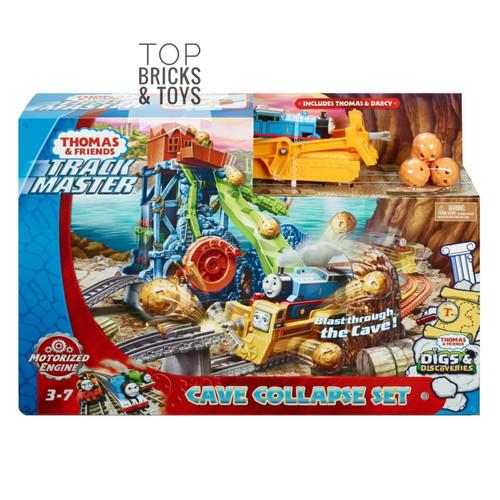 Foto Produk MATTEL, Thomas & Friends TrackMaster Motorized Cave Collapse Set dari Top Bricks & Toys
