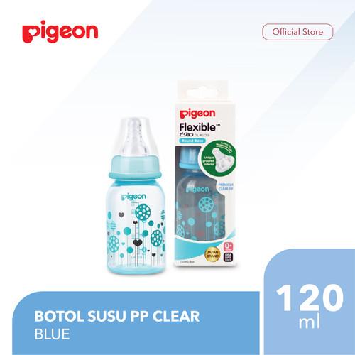 Foto Produk PIGEON Botol Susu PP Clear RP 120Ml - Blue dari Pigeon Indonesia