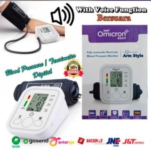Foto Produk Tensimeter Digital Tensi Meter Alat Pengukur Darah Dengan Suara B-869 dari Putra Jaya88