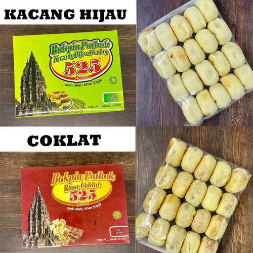 Foto Produk Bakpia Pathok Khas Jogja Kacang Hijau Telo Ungu Keju Coklat dan Campur - Kacang Hijau dari Khassolo