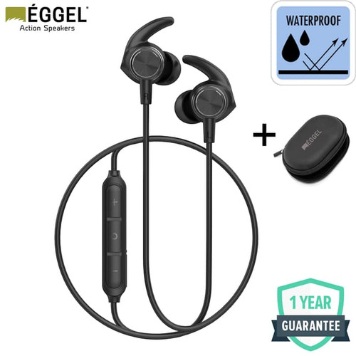 Foto Produk Eggel Liberty 2 Waterproof Sports Bluetooth Earphone dari EGGEL Official Store