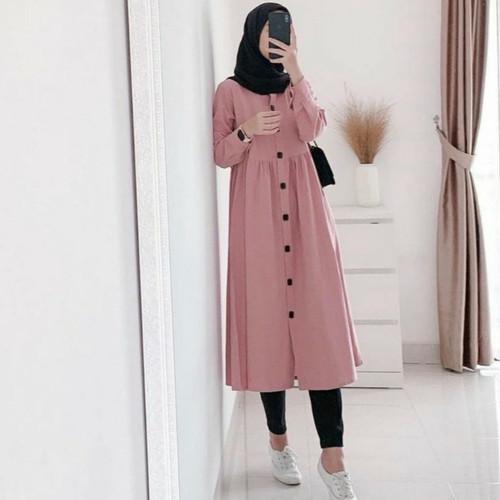 Foto Produk TUNIK NEDA ZUVIA DZUVIA TERLARIS & TERMURAH - Navy dari Fashion Fashion Wanita
