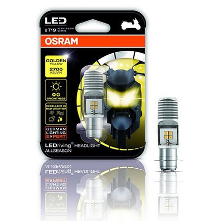 Foto Produk Osram LED T19 untuk Bebek / Matic Lampu Depan Motor - Putih dari Garuda LED
