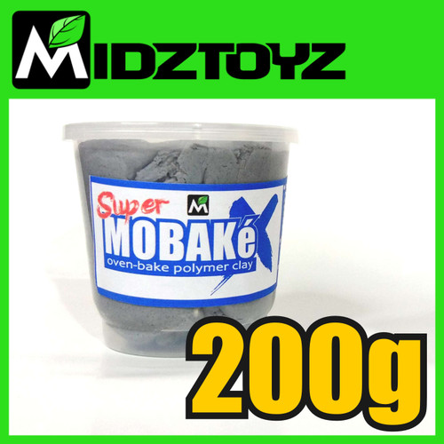 Foto Produk Super Mobake X - oven bake Polymer Clay 200g dari Midztoyz
