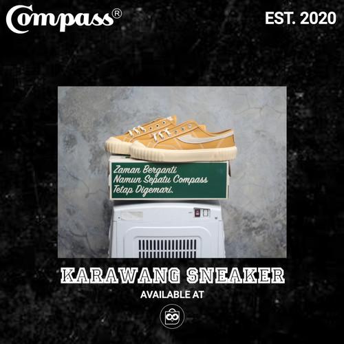 Foto Produk Sepatu Compass Gazelle 98 Vintage Low Mustard dari Karawang Sneaker ID