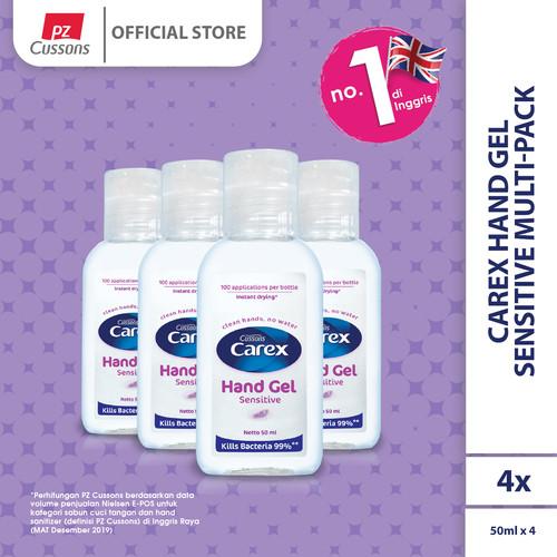 Foto Produk Carex Hand Gel Sensitive Multi-Pack dari Cussons Official Store