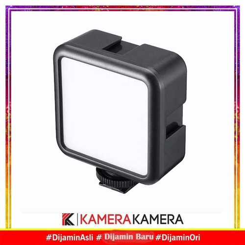 Foto Produk Ulanzi VL-49 VL 49 vl49 Lampu LED Mini Video Light RECHARGEABLE - Hitam dari kamerakamera
