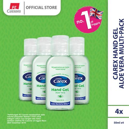 Foto Produk Carex Hand Gel Aloe Vera Multi-Pack dari Cussons Official Store