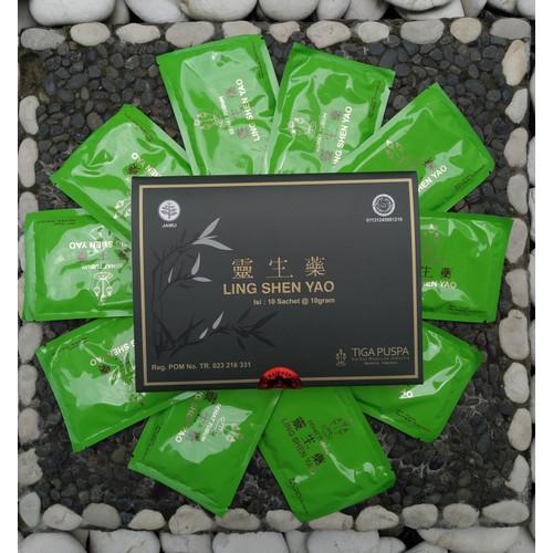 Foto Produk Ling Shen Yao Serbuk - Obat / Jamu Herbal Kanker Kista Mioma Tumor dari Trulum Effect