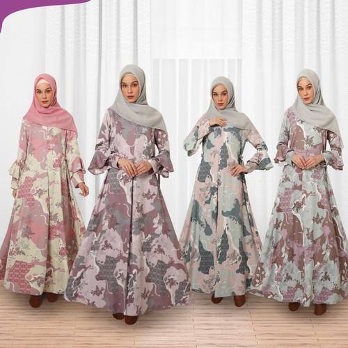 Foto Produk GAMIS KEKE HUMAIMA Zaara Dress GDH 24 dari Butik Naila