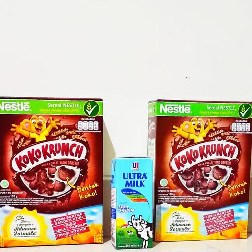 Foto Produk paket breakfast : 2 kotak koko crunch 170gr, 1 kotak susu ultra 250ml dari barangmurahdonk