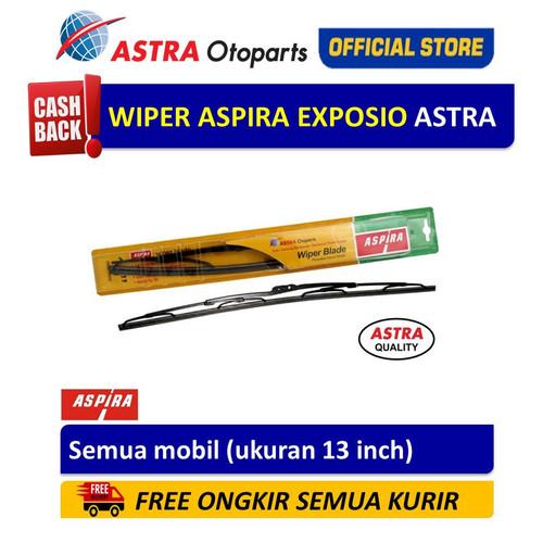 Foto Produk Wiper Blade ASPIRA: Semua Mobil (ukuran 13 inch) dari Astra Otoparts
