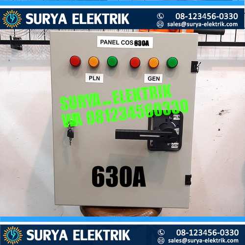 Foto Produk PANEL OHM SAKLAR COS PLN GENSET SOCOMEC 630A 630 A Amper + BOX SOCOMEC dari SURYA-ELEKTRIK