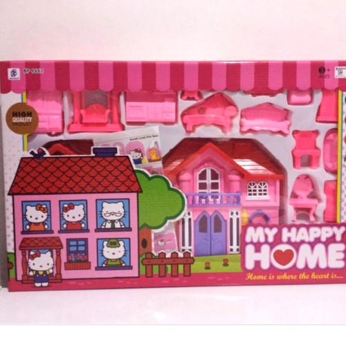 Foto Produk mainan my happy home frozen/mainan rumah frozen/mainan anak - hello kitty dari HM (hamanda) toys