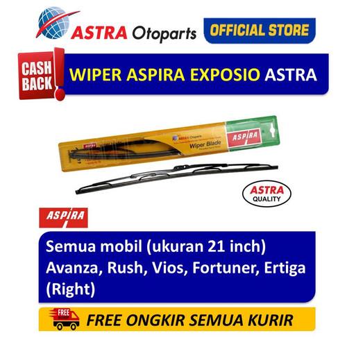 Foto Produk Wiper Blade ASPIRA : Rush, Vios, Fortuner, Ertiga(R) (ukuran 21 inch) dari Astra Otoparts