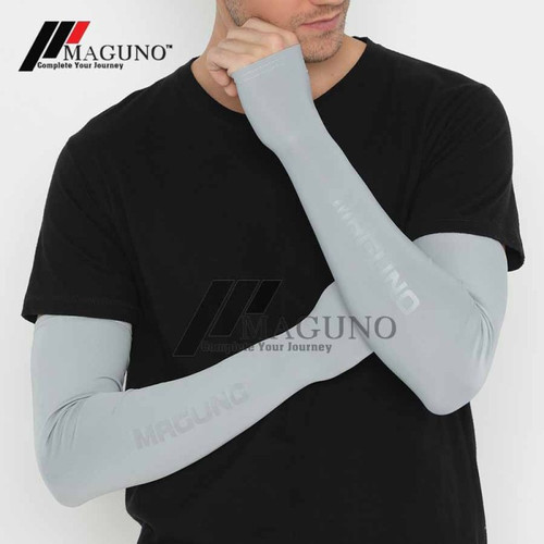 Foto Produk Maguno™ Arm Sleeve Manset Maguno Quick Dry Arm Sleeves Protections - Royal Black dari MAGUNO