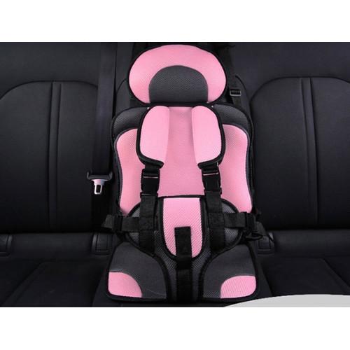 Foto Produk IMUNDEX Baby Car Seat / Portable Car Seat dudukan mobil bayi anak - Merah Muda dari IMUNDEX