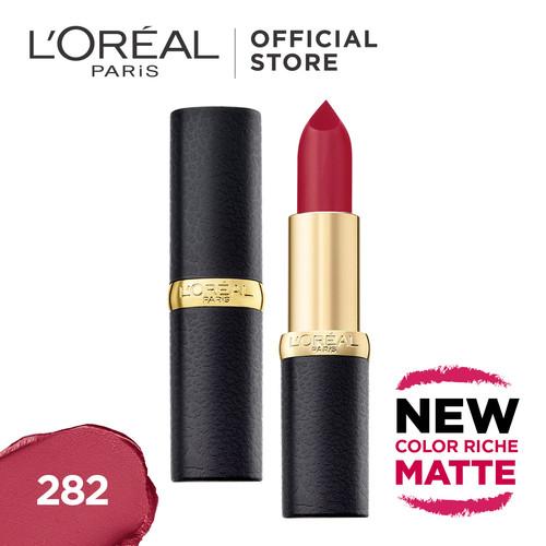 Foto Produk L'Oreal Lipstik Matte Color Riche Matte - La Vie En Coal dari L'oreal Paris