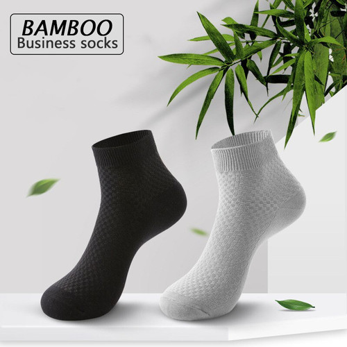 Foto Produk KK51 Kaos Kaki Panjang Original Serat Bambu Arang Bamboo Sock dari EnnWen Online Store