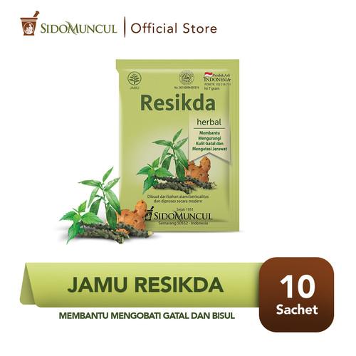 Foto Produk Sido Muncul Jamu Resikda 10's - Obat Herbal Gatal dan Bisul dari Sido Muncul Store