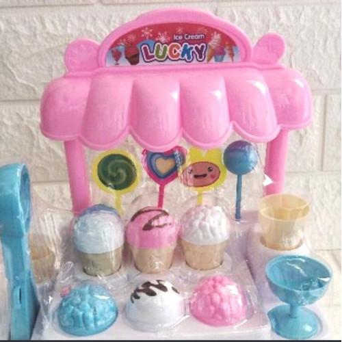 Foto Produk Mainan Anak Ice Cream Candy House Mainan Es Krim - pink dari jm98