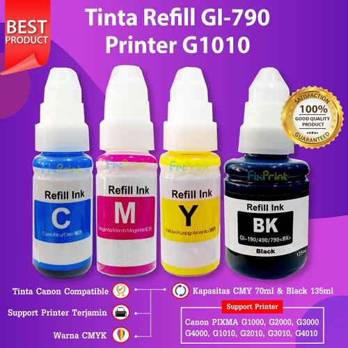 Foto Produk 1 Set Tinta GI790 790 Refill Canon G1010 G2010 G3010 G4010 G1000 G2010 dari FixPrint Indonesia