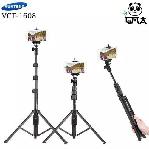 Foto Produk Tripod Tongsis Bluetooth Yunteng VCT-1608 dari Gudang Media Accesories
