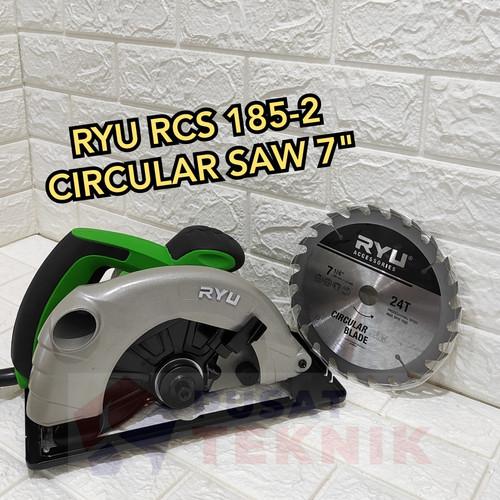 """Foto Produk NEW MODEL RYU RCS 185-2 - CIRCULAR SAW RYU 185-2 - MESIN SERKEL RYU 7"""" dari PUSAT TEKNIK TOKO"""