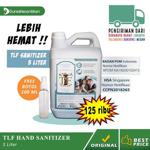 Foto Produk TLF Hand Sanitizer Liquid 5 Liter / Antiseptik Spray Alkohol 70% BPOM dari DuniaKecantikan