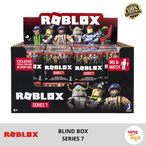 Foto Produk Roblox ROG Mystery Figures Obsidian Series 7 Black BlindBox dari Vovo Toys