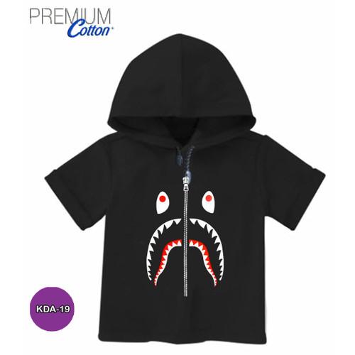 Foto Produk Baju Bape Shark Baju Hoodie Anak Premium Original #KDA-19 - ANAK - S dari Kaos Printing 3D