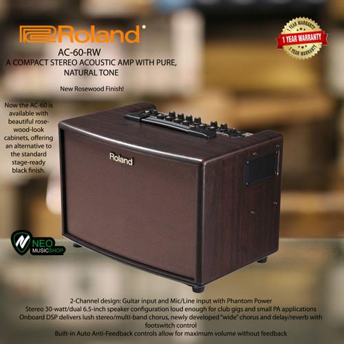 Foto Produk Roland AC60RW Stereo Acoustic Chorus Guitar Amplifier dari NEO MUSIC