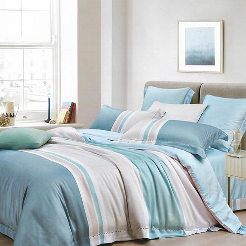 Foto Produk Sleep Buddy Set Sprei Soft Line Tencel - Single Size dari Sleep Buddy Bedding