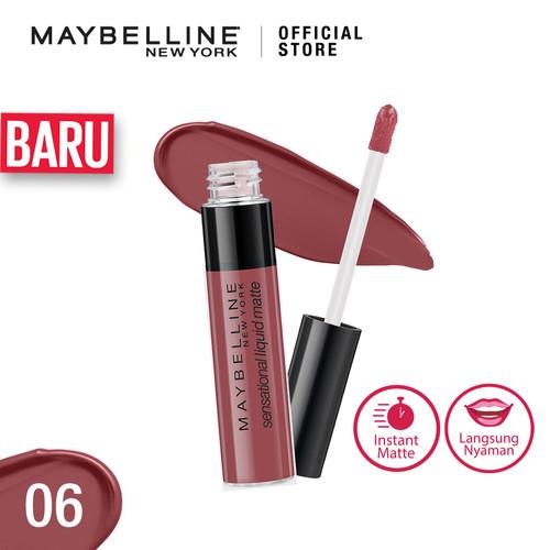Foto Produk Maybelline Sensational Liquid Matte Lipstick - Best Babe dari Maybelline Official Shop