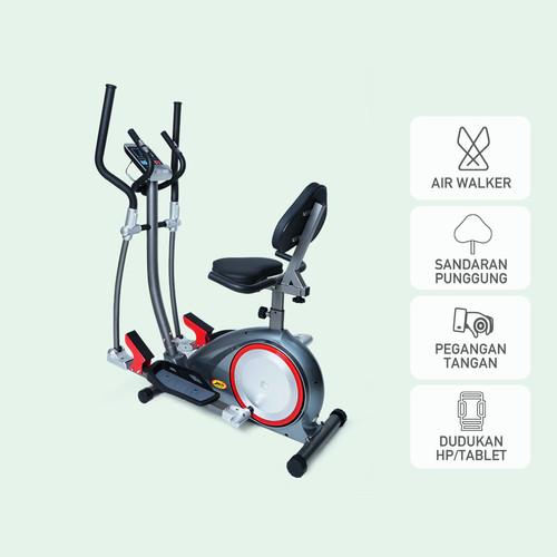 Foto Produk Sepeda Olahraga Kardiovaskular Jaco Elliptical Bike JC-2288A dari JACO TVS