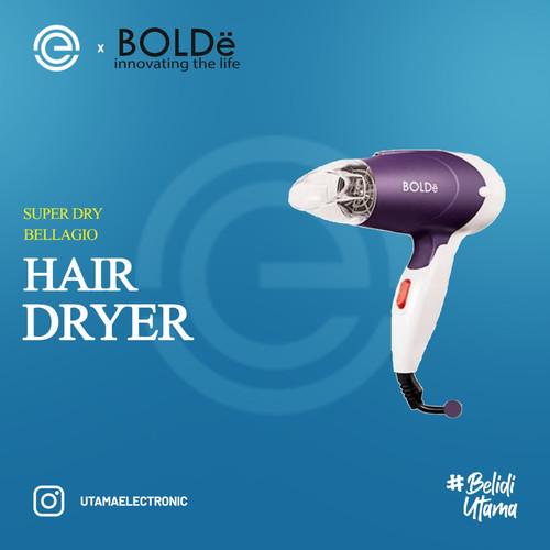 Foto Produk BOLDE Super DRY Hair Dryer Pengering Rambut BELLAGIO - Merah dari UTAMA_ELECTRONIC